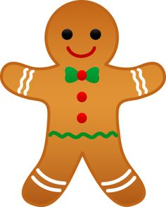 Gingerbread clipart #1