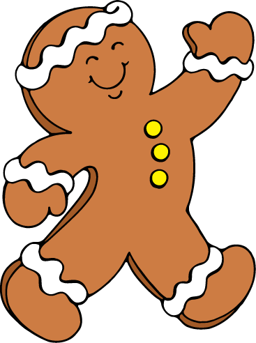 Gingerbread clipart #7