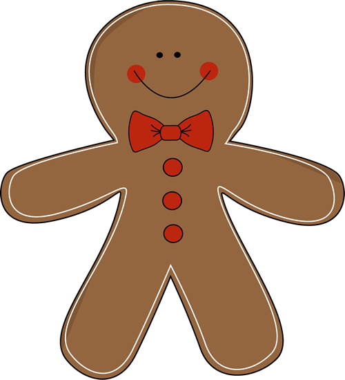 Gingerbread clipart #13