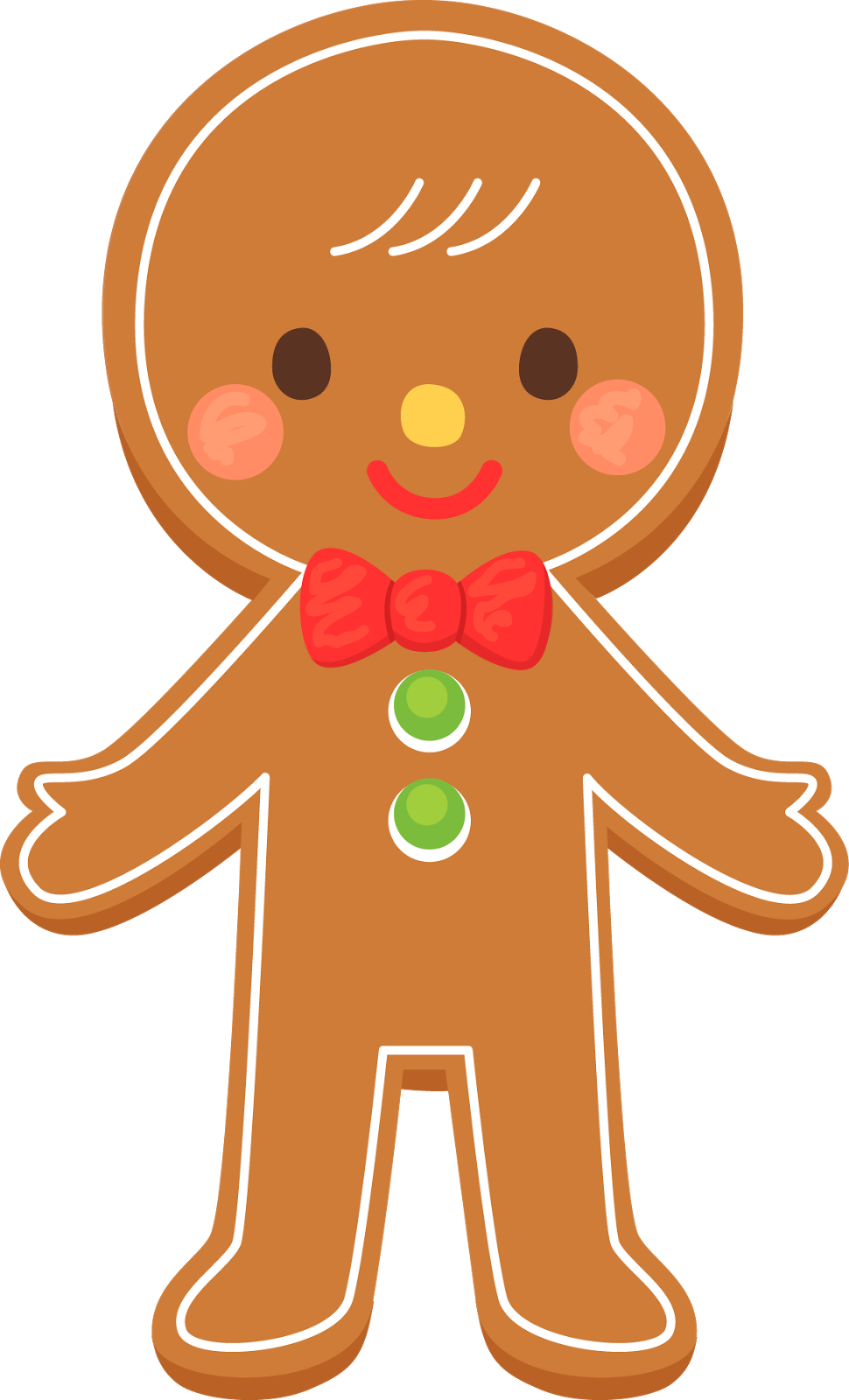 Gingerbread clipart #14