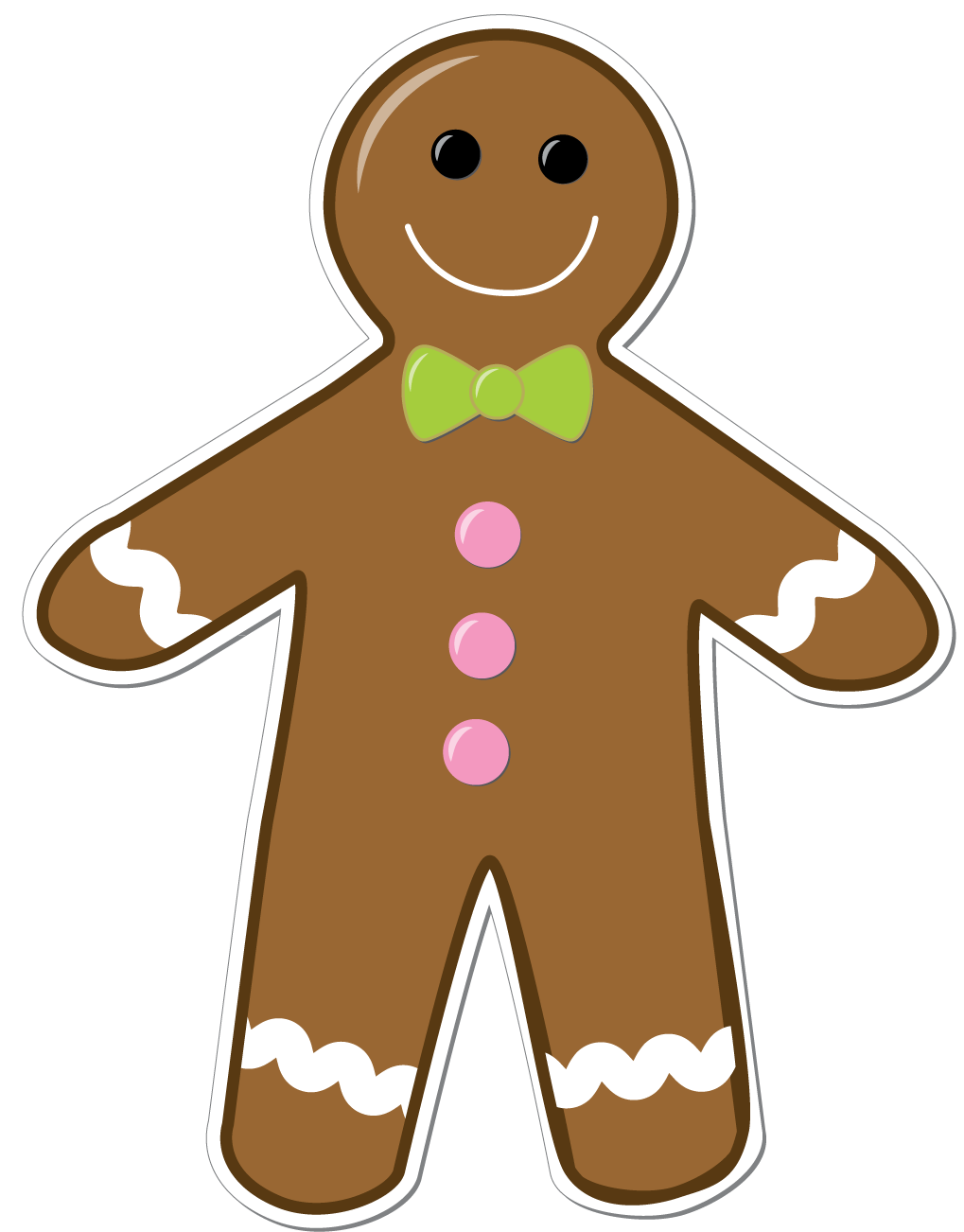 Gingerbread clipart #15