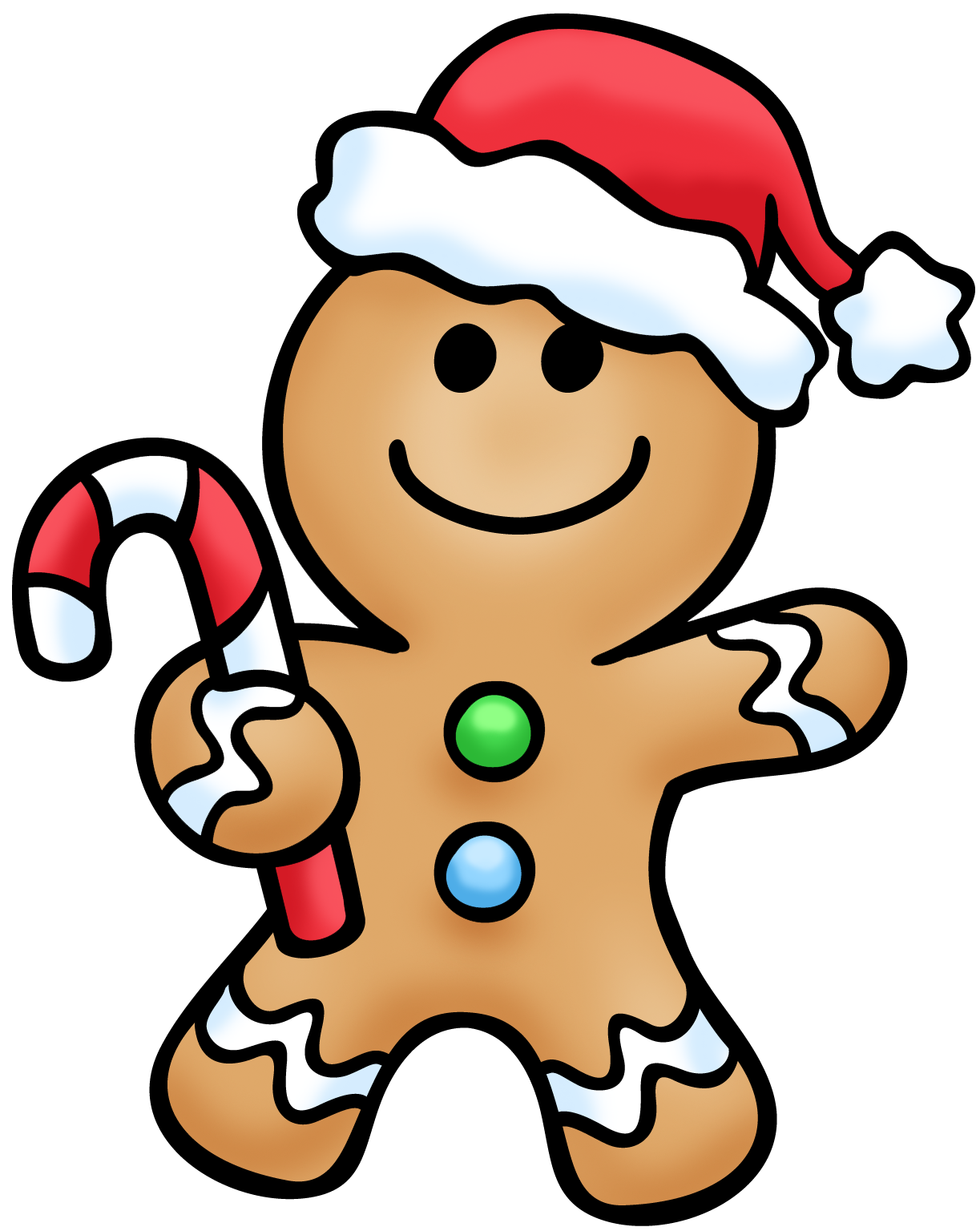 Gingerbread clipart #10