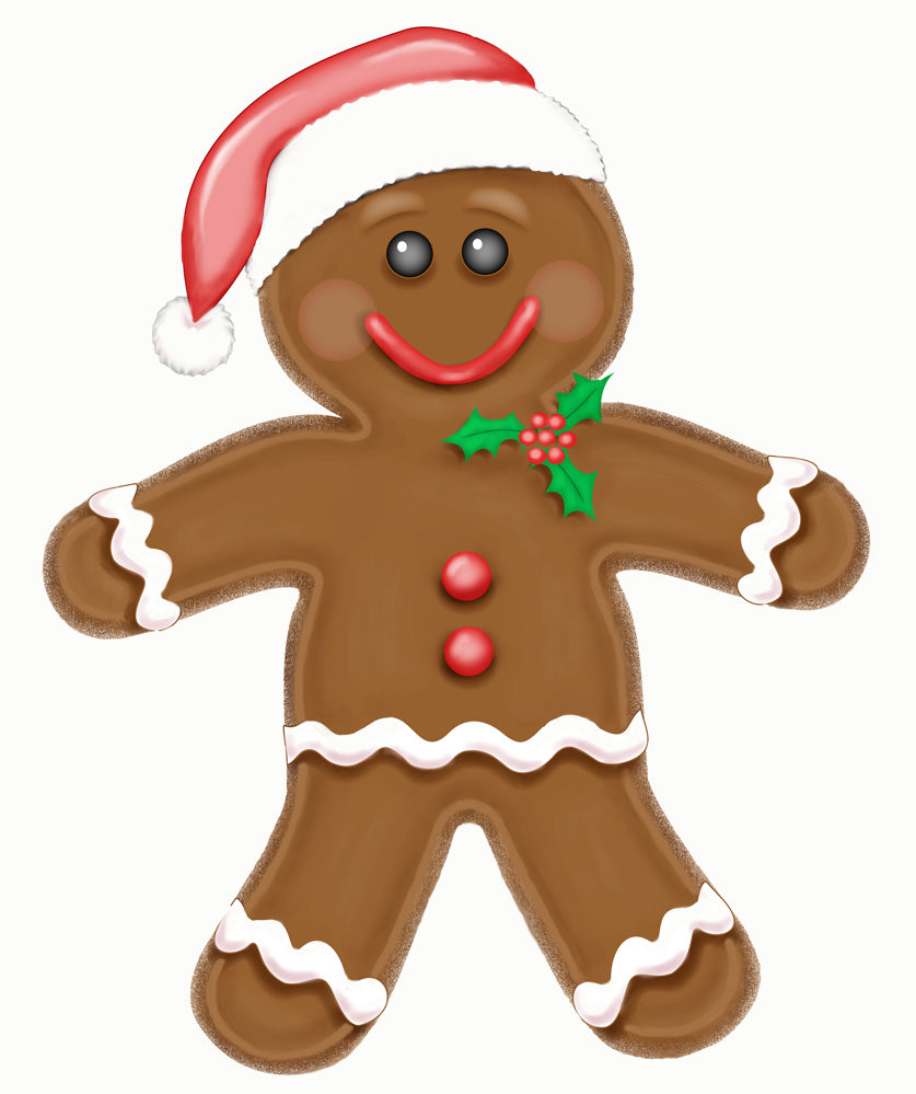 Gingerbread clipart #11