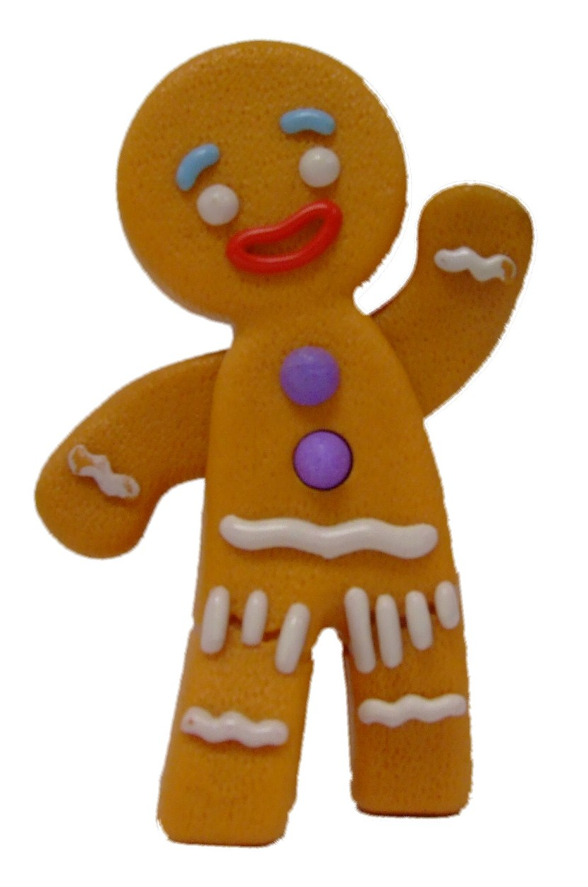 Gingerbread clipart #8