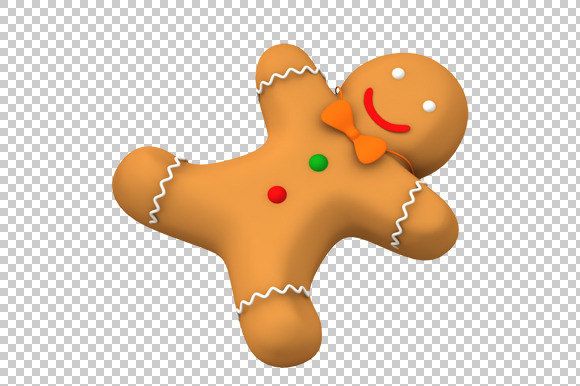 Gingerbread clipart background #6