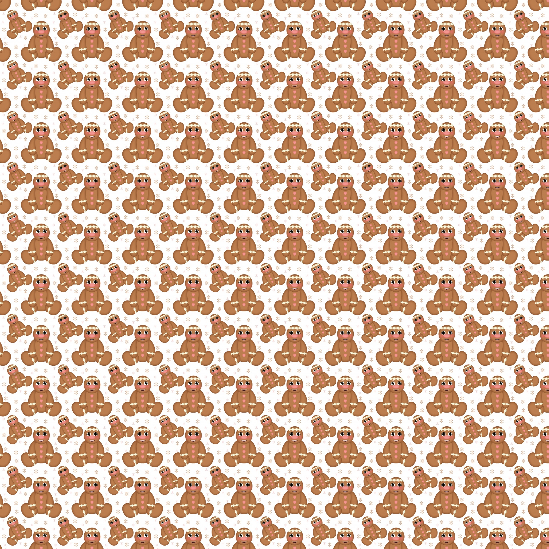 Gingerbread clipart background #2