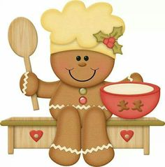 Gingerbread clipart christmas couple Windows 128GB 12