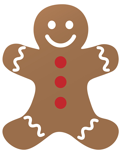 Gingerbread clipart christmas couple Art Reindeer clipart ginger Free