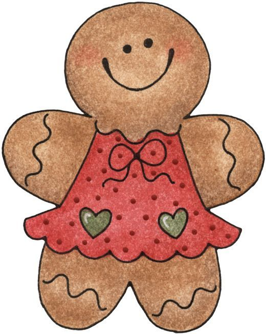 Gingerbread clipart christmas couple Images de Pinterest best Sweet