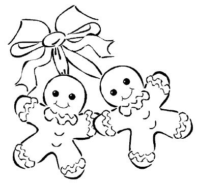 Gingerbread clipart christmas couple On gingerbread couple Pinterest coloring