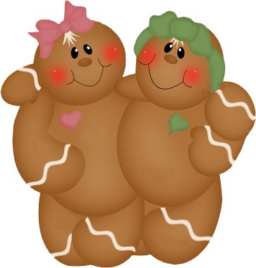 Gingerbread clipart christmas couple Images Art Pinterest best Gingerbread