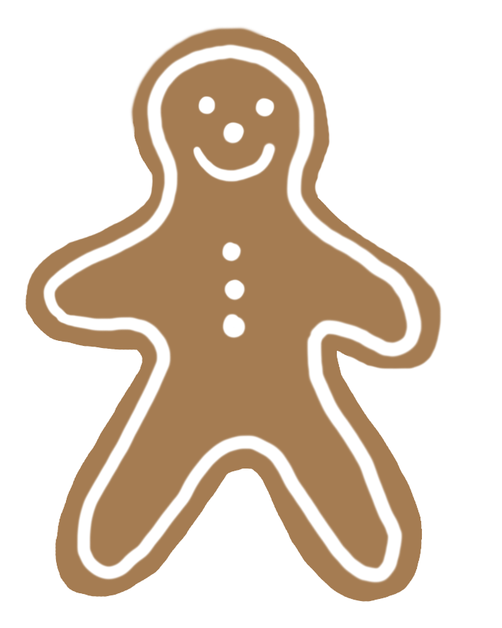Gingerbread clipart christmas couple Gingerbread woman gingerbread Clip Free