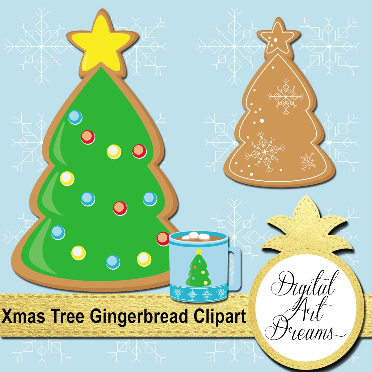 Gingerbread clipart christmas tree Gingerbread a is Gingerbread Clipart