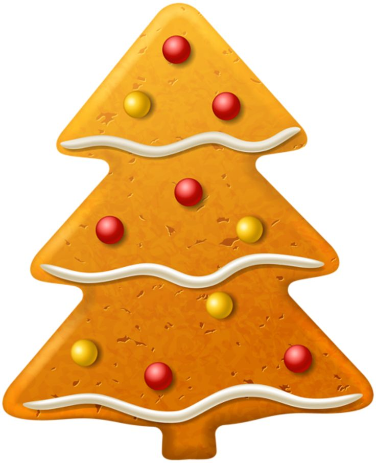 Gingerbread clipart christmas tree About on Pin this man