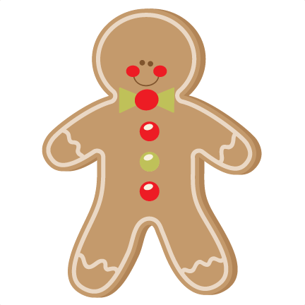 Gingerbread clipart cut out Free Man cute clipart scrapbook