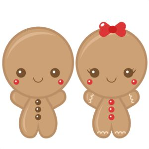 Gingerbread clipart cut out Files Pinterest christmas Girl images