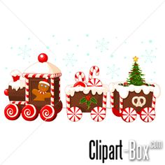 Gingerbread clipart cute button #7