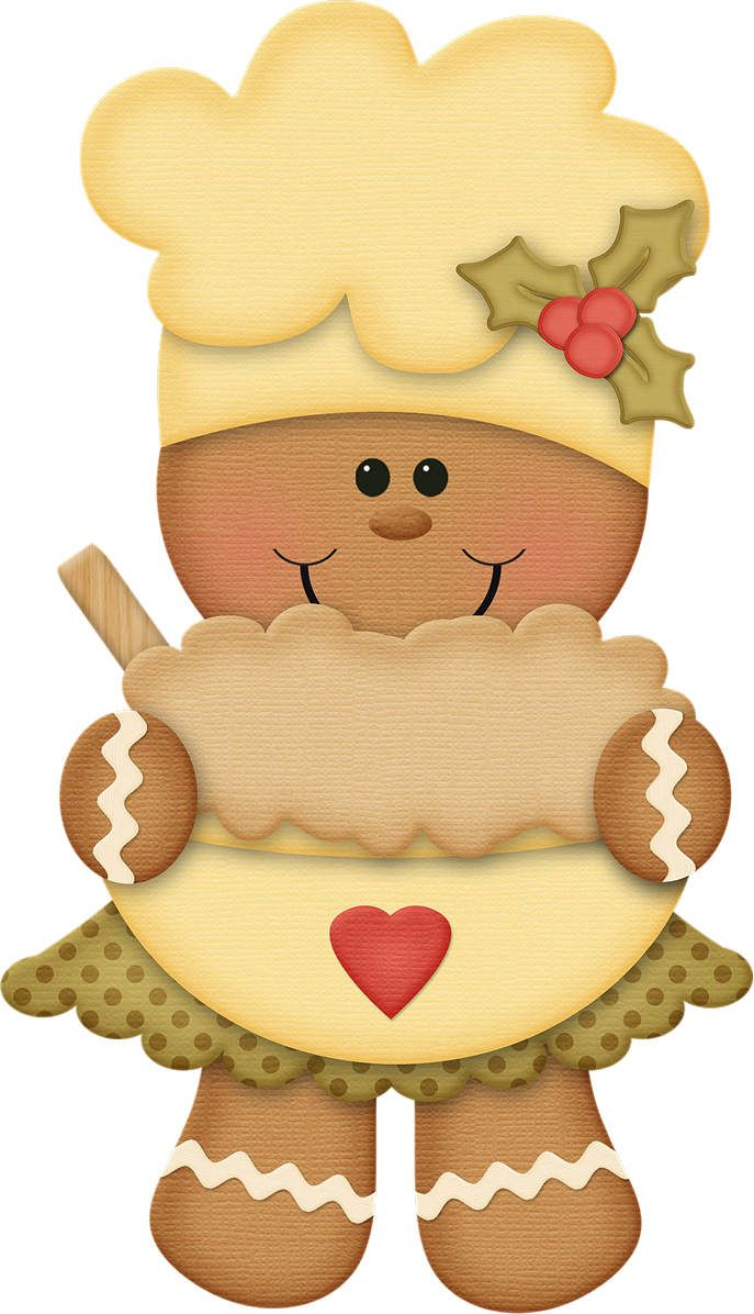 Gingerbread clipart decoration Ginger images Gingerbread Navidad on