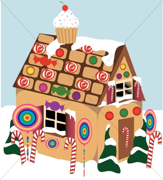 Gingerbread clipart decoration Gingerbread Decoration House Religious Decoration