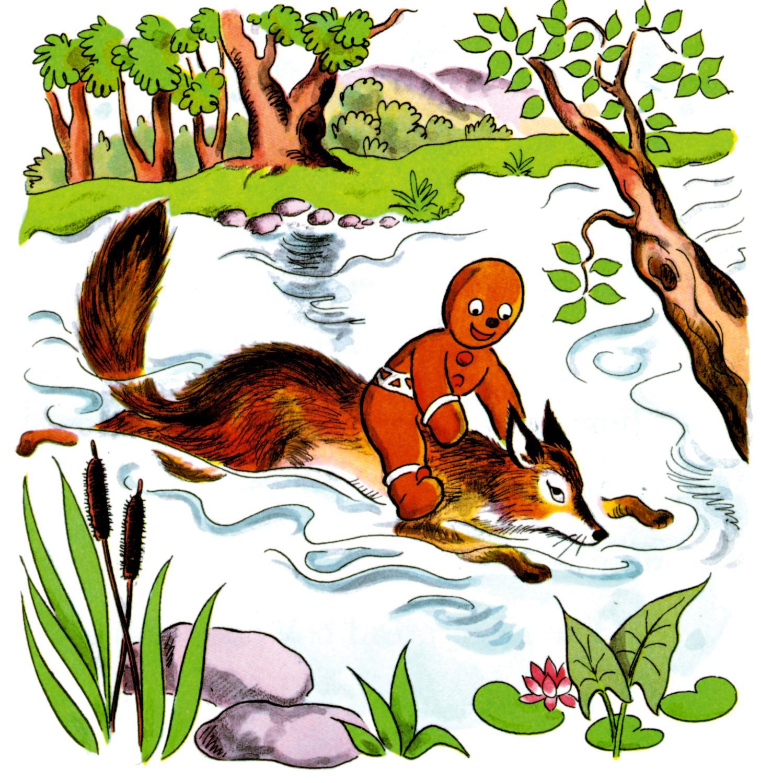 Gingerbread clipart eaten Fox Gingerbread the Man Art