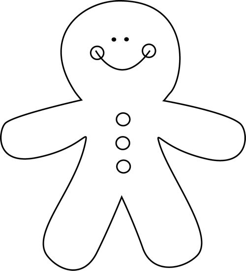 Gingerbread clipart gingerbread baby Theme: about best Man Gingerbread