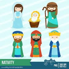 Gingerbread clipart nativity Para de Nativity Clipart Christmas