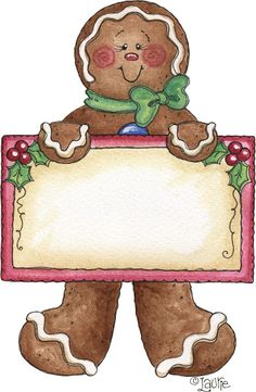 Gingerbread clipart nativity (printable) Furnell PNG Clipart GALLETAS