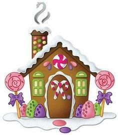 Gingerbread clipart party house Xatka gingerbread  Pin by