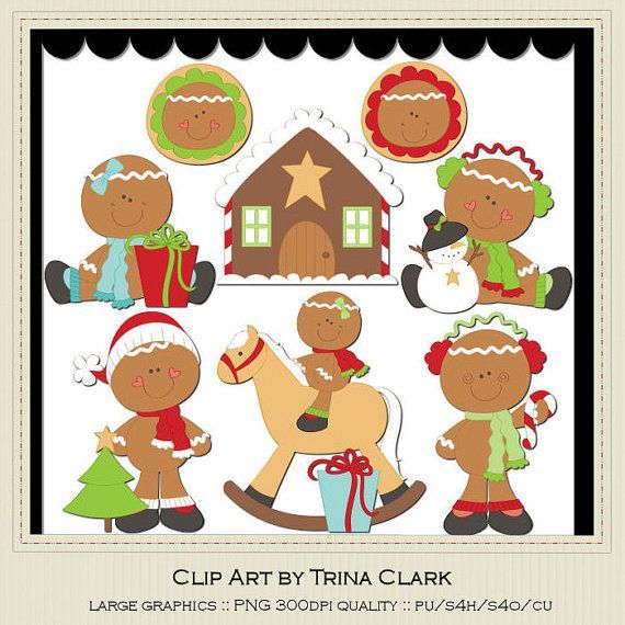 Gingerbread clipart party house $1 1 Clip christmas PartyChristmas