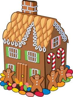 Gingerbread clipart party house Volume to House Gingerbread PartiesGingerbread