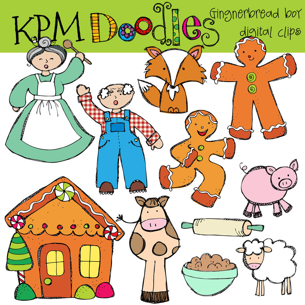 Gingerbread clipart story Download Story Man Gingerbread Gingerbread