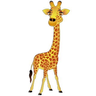 Moving clipart giraffe Clip Baby Funny Giraffes Images