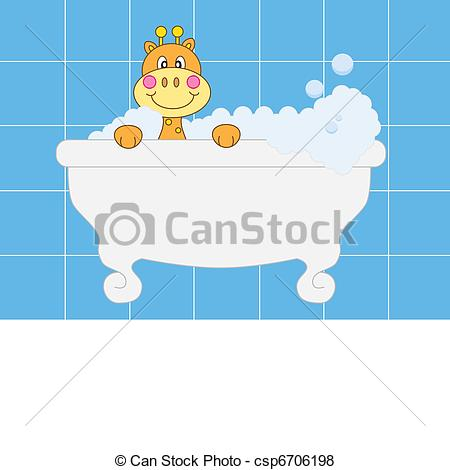 Giraffe clipart bathing Giraffe boy boy Baby announcement
