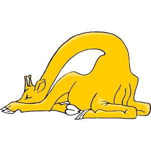 Giraffe clipart sleep Download emf clipart cliparts clipart