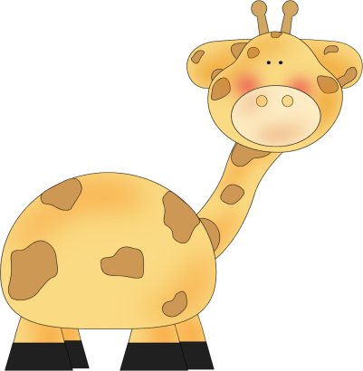 Baby Animal clipart transparent background Image Clip Art Giraffe Swinging