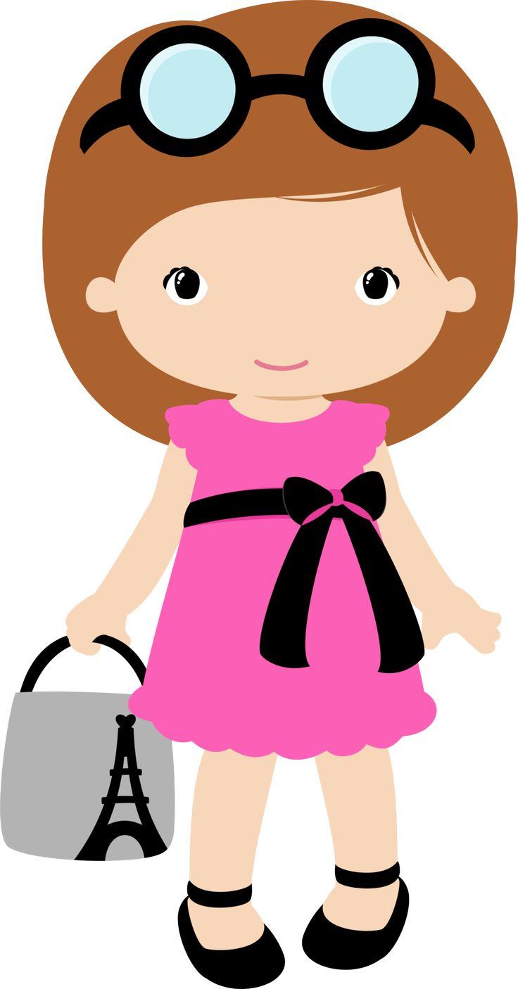 Girl clipart Clipart 58KB BONECAS MENINAS Clipart