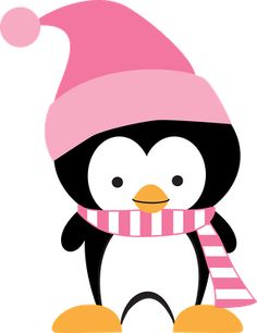 Penguin clipart girly Art skating Classic ice Sticker