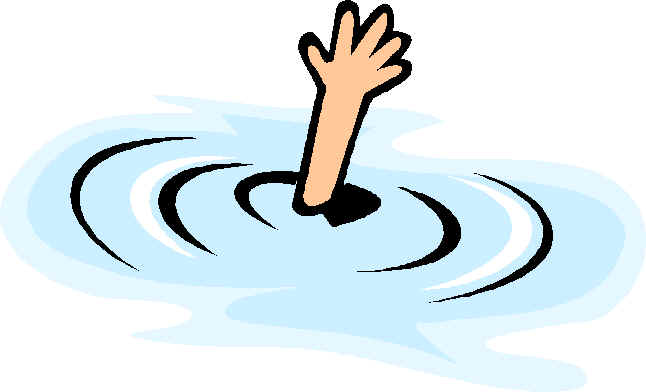 Girl Drowning Clipart Zone Woman Cliparts Drowning Drowning