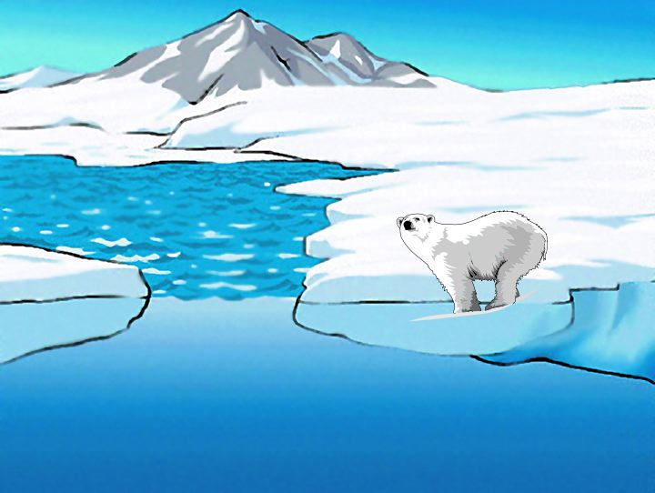 Arctic clipart arctic habitat Cliparts of on Habitat would