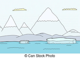 Arctic clipart arctic landscape Csp6491481 Clip Search Arctic Art