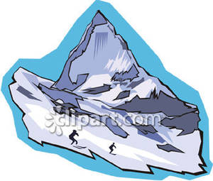 Peak clipart glacier Glacial with Picture Royalty Picture