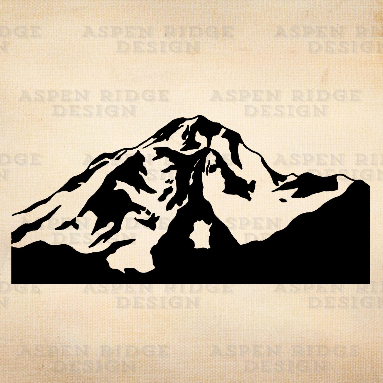 Peak clipart mountain scene Glacier Download Mountain clip Art