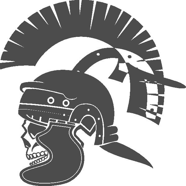 Gladiator clipart Roman vector at as: Skull