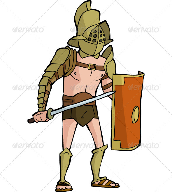 Gladiator clipart animated Roman Gladiator Roman Gladiators Gladiator