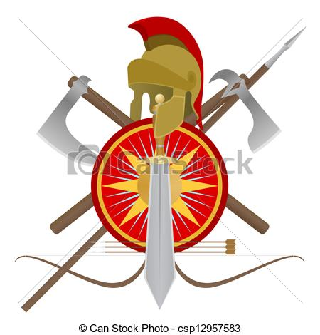 Gladiator clipart animated Of Weapon  gladiator of