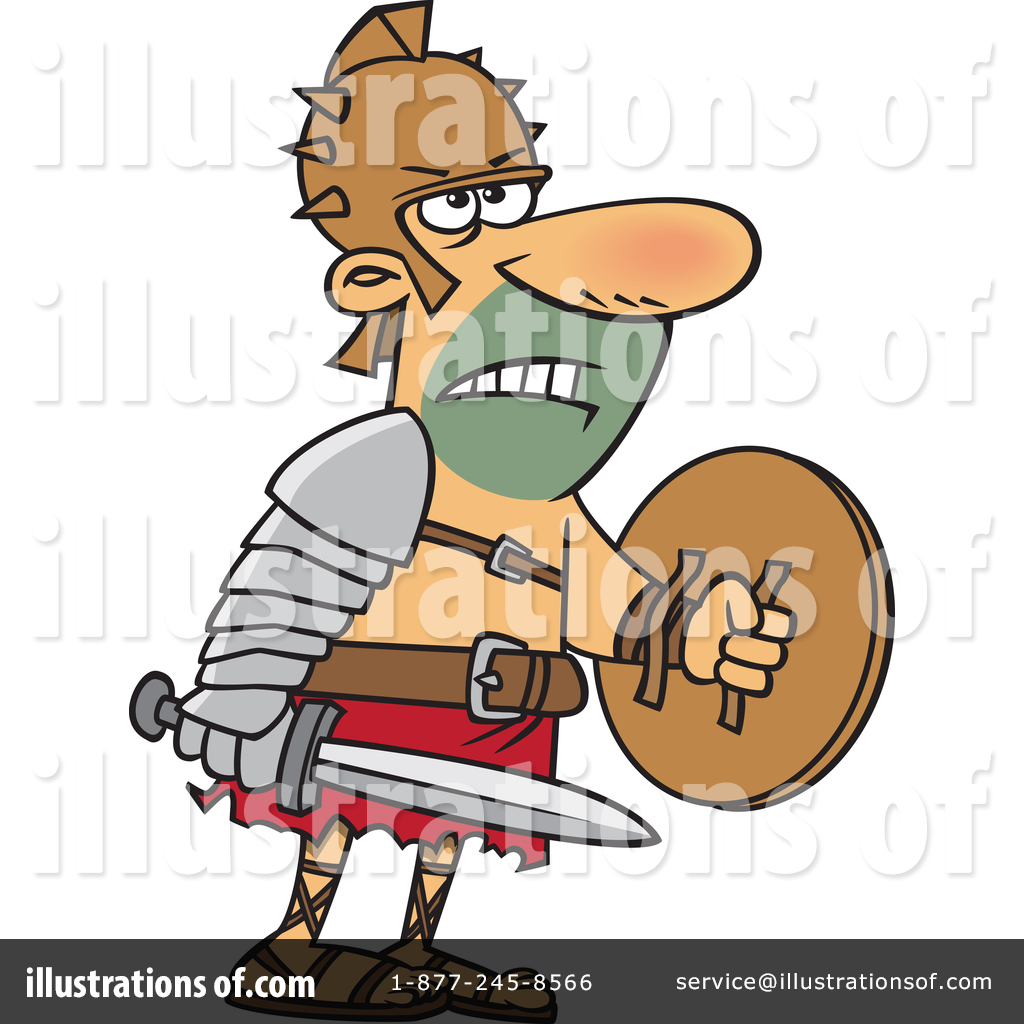 Gladiator clipart art By Ron Gladiator (RF) Clipart