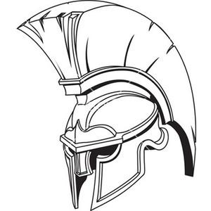 Gladiator clipart art Royalty Free vector helmet 264293