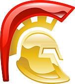 Gladiator clipart art Helmet Gladiator Trojan · Royalty