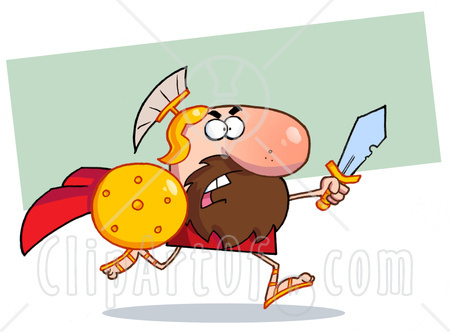 Gladiator clipart roman person The Coaching Leave Election