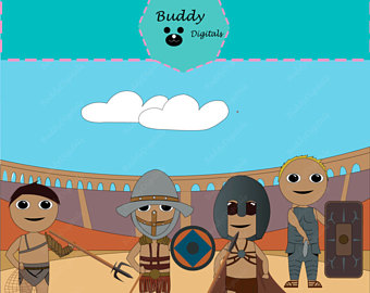 Gladiator clipart colosseum Colosseum SALE Etsy ON Clipart